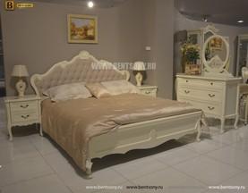 Спальня Габриель-W белая (Классика, Ткань) в Москве