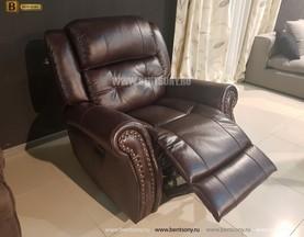 Кресло Локсли (Реклайнер, Натуральная кожа) цена