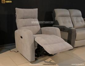 Кресло Лаваль с реклайнером (Алькантара) каталог мебели