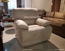 Кресло Капонело (Реклайнер, Ткань) купить в СПб