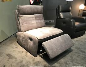 Кресло Амарони (Реклайнер, Алькантара) купить в СПб