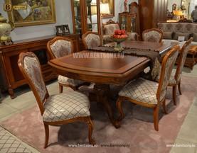 Столовая Флетчер, стол раздвижной (Классика, массив дерева) интернет магазин