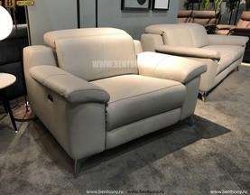 Кресло Торенеро (Реклайнер, натуральная кожа) каталог с ценами