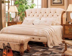Кровать Белмонт B (Классика, Ткань) цена