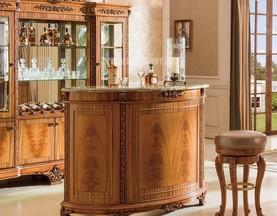 Барная стойка Белмонт (Классика, столешница мрамор) в интерьере