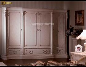 Шкаф 4-х дверный Вирджиния (Массив берёзы, классика) официальный сайт цены