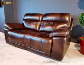 Диван Стерлинг двойной с реклайнерами каталог мебели