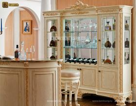 Буфет Белмонт-W (Классика, Барный шкаф)  купить в СПб