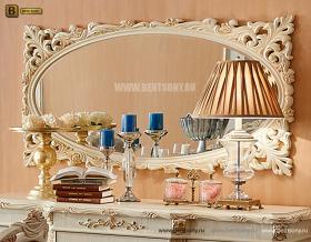 Зеркало на стену Белмонт-W В (Классика, массив дерева) изображение