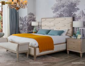 Кровать Невада А (Неоклассика, Ткань) изображение