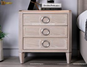 Тумба прикроватная Невада D (Неоклассика, массив дерева) каталог мебели
