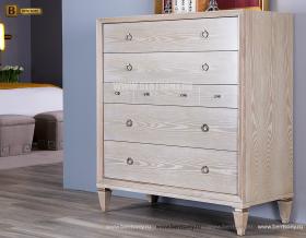 Комод Невада 5-ти ящичный А (Неоклассика, массив дерева) каталог мебели с ценами