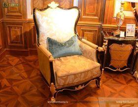 Кресло для отдыха Конкорд В (Классика, ткань) в интерьере