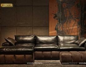 модульный кожаный диван Марчелло