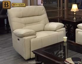 белое кожаное кресло купить москва
