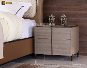 Тумба прикроватная Алабама E (Неоклассика) каталог мебели с ценами
