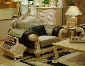 Кресло Вирджиния G (Массив берёзы,ткань, классика) купить в СПб