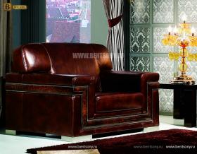 Кресло Кентуки В (Неоклассика, натуральная кожа) каталог мебели