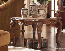 Стол журнальный Монтана А, чайный (Классика, массив дерева) сайт цены