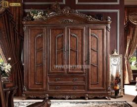 Шкаф 4-х дверный ДельМондо для дома