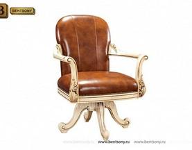 Кресло Кабинетное Феникс (Классика, натуральная кожа) каталог мебели с ценами