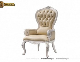 Кресло для кабинета Вагнер (Массив дерева, натуральная кожа) магазин Москва