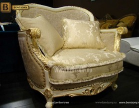 Кресло Амадео (Классика, массив дуба, патина) магазин
