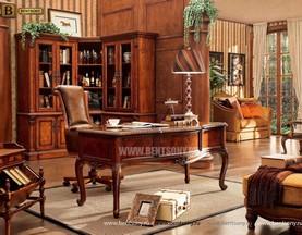 Кабинет Монтана 02 (Классика, Массив дерева) купить в Москве
