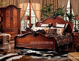 Спальня Монтана D (Классика, массив дерева) каталог с ценами