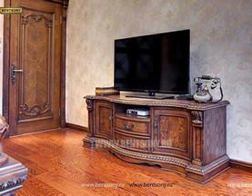 ТВ Тумба Монтана B (классика, массив дерева) распродажа