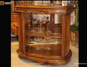 Сервировочный столик Дакота (Классика, массив дерева) изображение