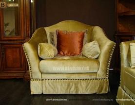 Кресло Монтана A (Классика, велюр) для загородного дома