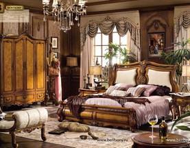 Спальня Дакота D (Классика, массив дерева) в СПб