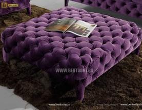 пуф Скиллачи фиолетовый велюр