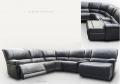 Диван Капонело (Угловой, Натуральная кожа) каталог мебели с ценами