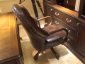 Кресло Крофорд (Вращается, натуральная кожа) официальный сайт цены