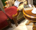 Кресло классическое для отдыха Лоренс с подушкой (Ткань) сайт цены