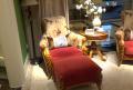 Кресло классическое для отдыха Лоренс с подушкой (Ткань) купить в СПб