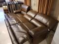 Диван Капонело (Шезлонг, Натуральная Кожа) для квартиры
