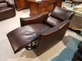 Кресло Порто цвет коричневый (Реклайнер, Натуральная кожа) в СПб