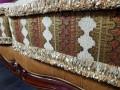 Диван Вагнер С (Классика, Ткань, подлокотники кожа) купить в Москве