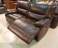 Диван Пьемонт коричневый (Прямой, Реклайнеры) каталог мебели с ценами