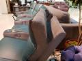 Диван Вердэ тройной (Реклайнеры, Кожа, Домашний кинотеатр) для квартиры