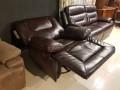 Кресло Прецо темно коричневое (Механизм качания, Натуральная Кожа) каталог с ценами