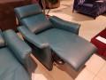 Кожаное Кресло Анголо (Реклайнер) распродажа