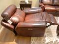 Кресло Болтон (Реклайнер, Натуральная кожа) каталог мебели с ценами