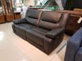 Диван двойной Прецо (Реклайнеры, Натуральная Кожа) каталог мебели с ценами