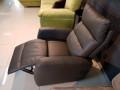 Кресло Лаваль с реклайнером (Натуральная кожа) для загородного дома