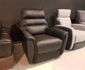 Кресло Фернандо с реклайнером (Натуральная кожа) магазин Москва