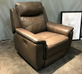 Кресло Инвитарио с реклайнером (Натуральная кожа) интернет магазин